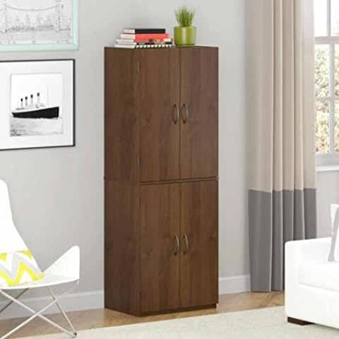 Mainstays Storage Cabinet with Two Adjustable Shelves
