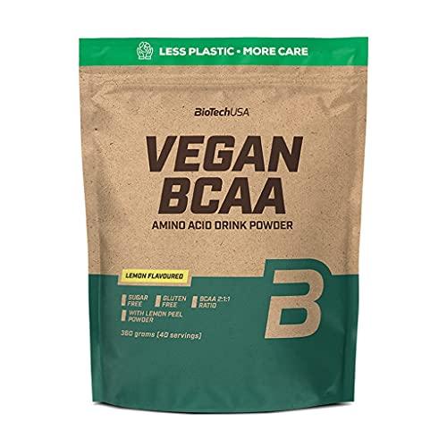 Biotech USA Vegan BCAA, 2 sacchetti da 360 g, Peach Iced Tea (confezione da 2)