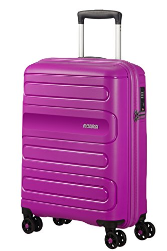 American Tourister Sunside Spinner 55/20 Bagaglio a mano, S (55 cm - 35L), Viola (Ultraviolet)
