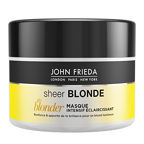 JOHN FIEDA Sheer Blonde Go Blonder Intensieve masker, 250 ml