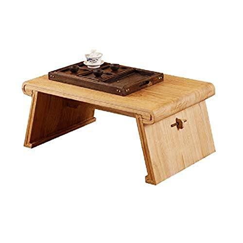 KJzhu Inicio Escritorio, sólido a prueba de humedad de la madera desmontable de una sola capa de la mesa de centro Kinder libro niño Habitación mesa baja Grande ( Color : A , Size : 70*45*30cm )