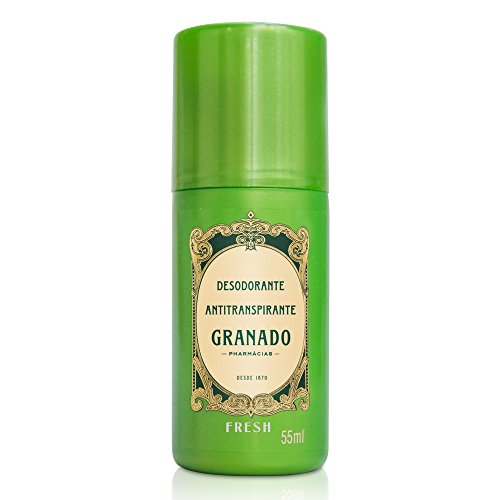 Desodorante Roll-On Fresh, Granado, Verde, 55ml