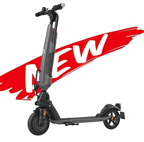 Patinete eléctrico Plegable con Certificazione ABE, La batería extraíble, neumáticos de panal de 8 pulgadas, con Pantalla LED HD, Carga máxima de hasta 150 kg, scooter eléctrico fácil de plegar