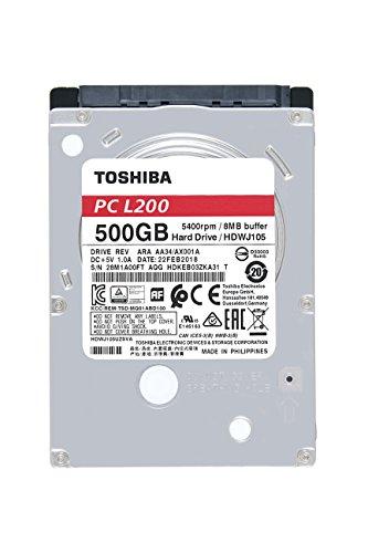 Toshiba Bulk L200 - Disco Duro de 500Gb