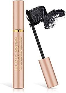 KAJURY Silk Fiber Lash Mascara,Lengthening and Thick,Smudge-Proof Eyelashes,Classic Waterproof Mascara,Long Lasting Charming Eye MakeupSt. (Pink)