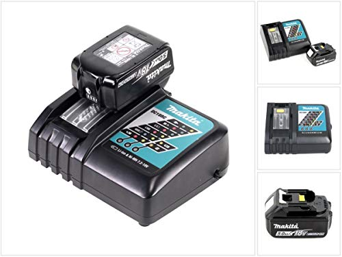 Photo of Makita 18 V Power Source Kit with 1 x BL1850B Battery, 5.0 Ah + DC18RC Charger