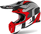Airoh Casco Terminator OP.V SHOOT RED MATT XS