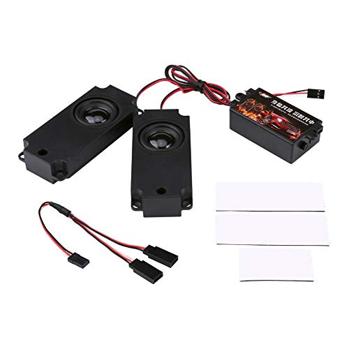 Zouminy Engine Sound gesimuleerde module Simulator Engine Sound Accessoires voor RC Racing Drifting Car