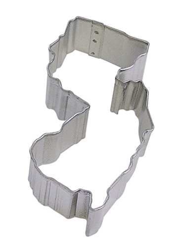 R&M New Jersey State Cookie Cutter in Durable, Economical, Tinplated Steel