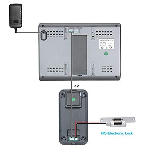 Tarjeta de identificación del Timbre de la cámara del Timbre Visual, para la casa al Aire Libre, para el Sistema de Entrada del intercomunicador(Transl)