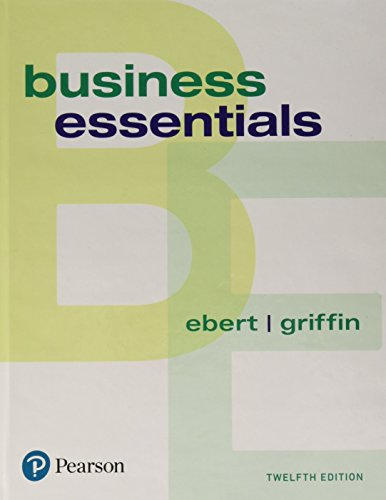 Business Essentials (What's New in Intro to Business)