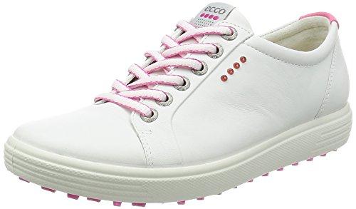 Ecco ECCO Damen Womens Golf Casual HYBRID Golfschuhe, Weiß (1007WHITE), 37 EU