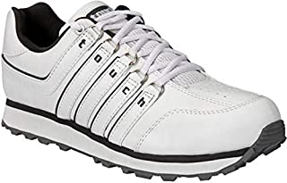 Lakhani 718 White Grey Men Sports Running Shoe
