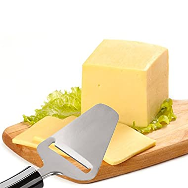 Cheese Slicer Stainless Steel Cutter - Perfect Slices with Once Gesture - Satisfaction Guarantee - Sharpcart