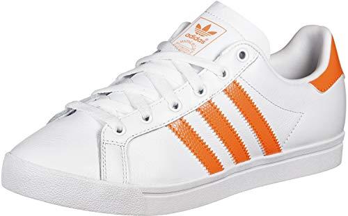 adidas Coast Star W, Scarpe da Ginnastica Donna, Bianco (Ftwr White/Semi Coral/Ftwr White Ftwr White/Semi Coral/Ftwr White), 38 EU