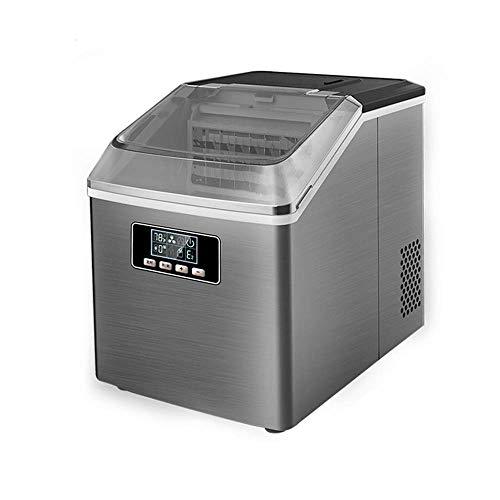 41lxXd1J0JL - SEESEE.U Eismaschine, quadratische Eiswürfel in 12-20 Minuten fertig, 25 kg EIS in 24 Stunden herstellen, tragbare kleine Eiswürfelbereiter für Arbeitsplatte Home Bar Perfekt für Partys Mixgetränke