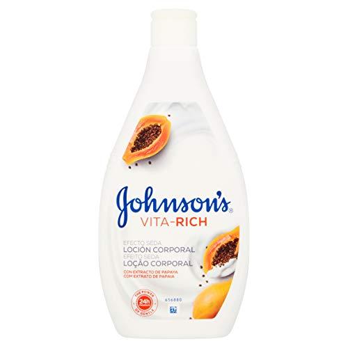 Johnson's Vita Rich Efecto Seda Papaya Lotion Corporelle 400 ml