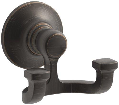 KOHLER K-11414-2BZ Bancroft Robe Hook, Oil-Rubbed Bronze