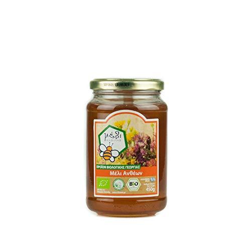 Honey Fasilis Bio  Miel de Flores  - Griega 450 g
