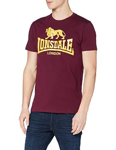Lonsdale London Herren T Shirt Trägerhemd Logo, Blutrot, XL, 119083_2