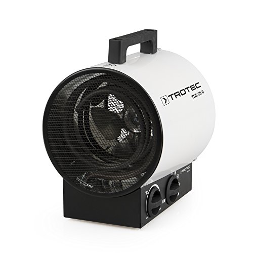 TROTEC Calefactor eléctrico TDS 20 R, 3000 W, 3...