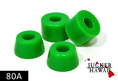 JUCKER HAWAII Longboard Bushings/Lenkgummis 80A grün
