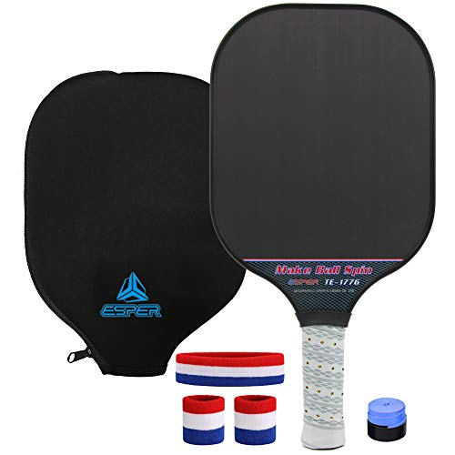 Pickleball Paddle Textured Surface by Esper review
