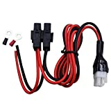 New Power Cable Cord Accessories Short Wave FT-857D FT-897D IC-725A IC-78 IC-706 (6-Hole 4-Pin)