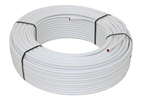 Metallverbundrohr für Fußbodenheizung & Sanitär; 16 x 2mm; 100m Rolle