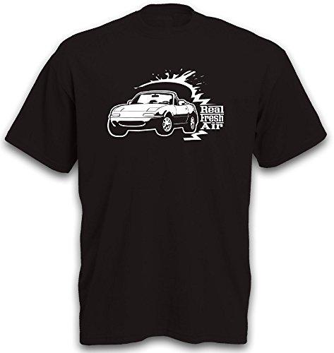 T-Shirt MX5 MX 5 Cabrio Auto Motiv Roadster Youngtimer Sportwagen Gr. XXL