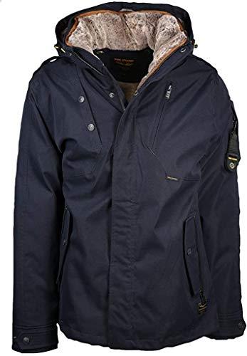 PME Legend Zip Jacket Hi Twill Snowpack 3.0, blau(Navy), Gr. L