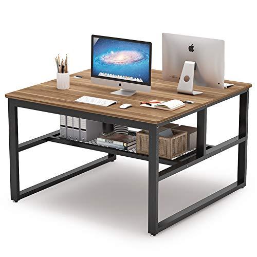 Tribesigns Square Two-person Desk