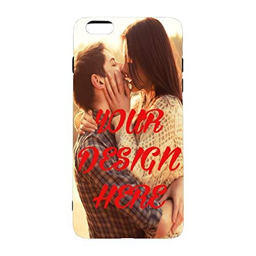 Funda Personalizada para Apple iPhone 6 plus/6S Plus,iPhone 6/7/8/11/12 / XS/XR, Carcasa Personalizado Teléfono móvil Transparente con Foto Imagen Texto Diseña,Regalo Original