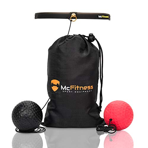 McFitness Boxing Punch Ball Reflex Speed...