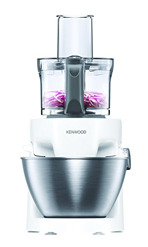 Kenwood KHH322WH 1000W 4.3L Color blanco - Robot de cocina (4,3 L, Color blanco, Metal, De plástico, 1000 W, 247 mm)
