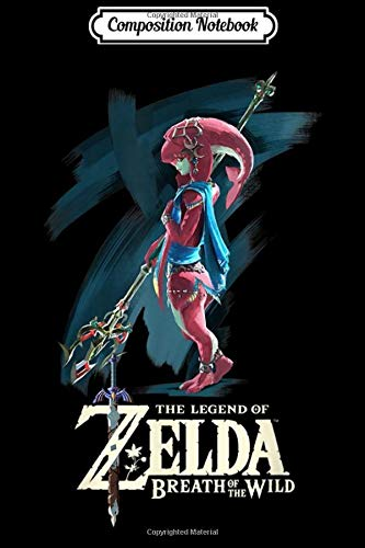 Composition Notebook: Legend of Zelda Breath of the Wild Mipha Paint Brush  Journal/Notebook Blank Lined Ruled 6x9 100 Pages