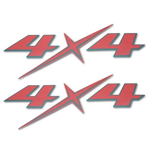 Powerwarauto Sticker Badge 4x4 Red Black For Isuzu Holden D-Max Dmax UTE Pickup 2012 2013 2014 2015 2016 2017 2018