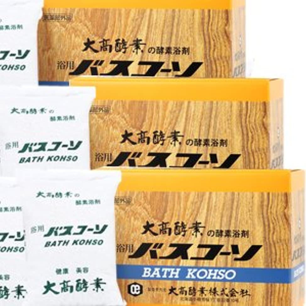 アイドル外交問題データム【3個】 大高酵素 バスコーソ酵素入浴剤(100g×6袋)x3個 4971578001095