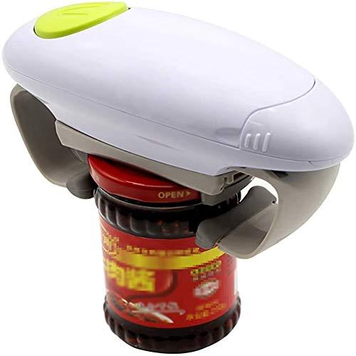 Moter One Touch Ouvre Automatique Jar, réglable Facile Can Tin Outil Ouvert, Accessoires de Cuisine à usages Multiples Idéal pour Personnes âgées Personnes souffrant d'arthrite