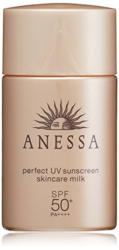Anessa Perfect uv sunscreen skincare milk SPF50+/PA++++ 20ml / 0.7oz