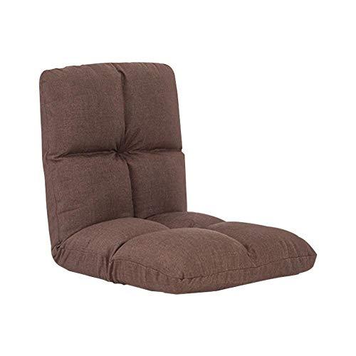 Faules Sofa Couch Tatami Acht Gitter Baumwolle Sofa für Einzelperson Stuhl Klappbett Kleines Sofa Stuhl Schwimmender Fenster Stuhl Boden Stuhl