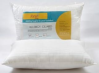 """Featherlite ReveDoux Allergy Guard 2 Piece Cotton Satin Pillow Set - 17""""x27"""", Multicolour"""