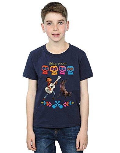 Disney niños Coco Miguel Logo Camiseta 5-6 Years Armada