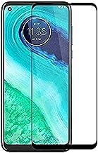 EASYBIZZ Edge to Edge Black Tempered Glass Screen Protector for Motorola Moto G9 Power