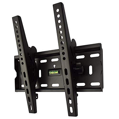 テレビ 壁掛け 金具 STARPLATINUM 液晶 TV モニター TVセッターチルト FT100 26-46インチ対応 Sサイズ ブラック
