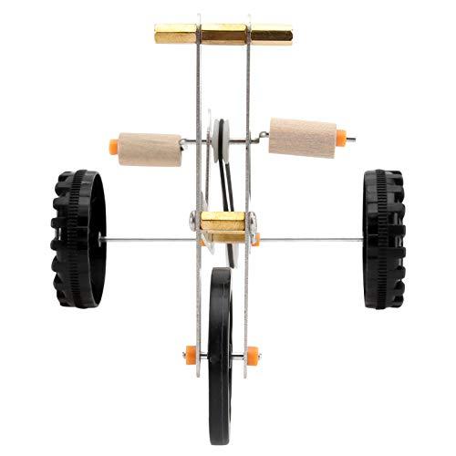 VILLCASE Juguete de Entrenamiento de Loros-Divertido Pájaro Bicicleta Juguete Creativo Mascota Loro Juguete Intelectual Suministros Prácticos para Loros Accesorios para Jaulas de Pájaros