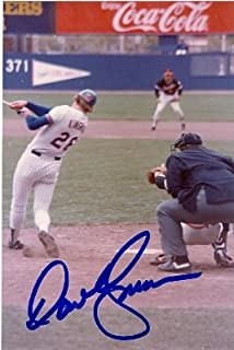 Autograph Warehouse 61953 Dave Kingman Autographed Photo 4X6 New York Mets 67 The Swing