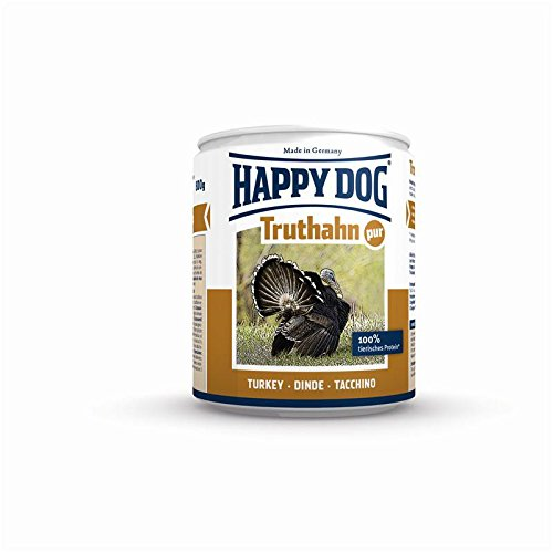 Happy Dog Dose Truthahn Pur | 12x 200g Hundenassfutter