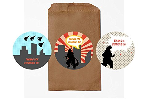Godzilla Goodie Bags (Pack of 12)