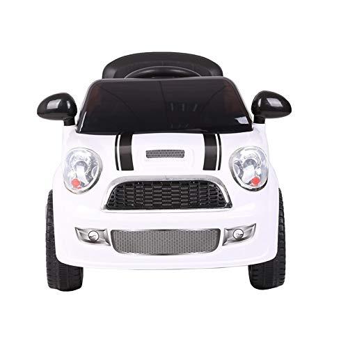 ATAA Mini UNO 6V - Coche eléctrico Infantil para niños y niñas teledirigido con Mando - Blanco